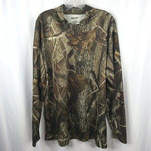 Outfitters Ridge Mock Neck Long Sleeve Camo Shirt